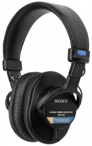 03_Fig 3 Sony MDR-7506 Headphones